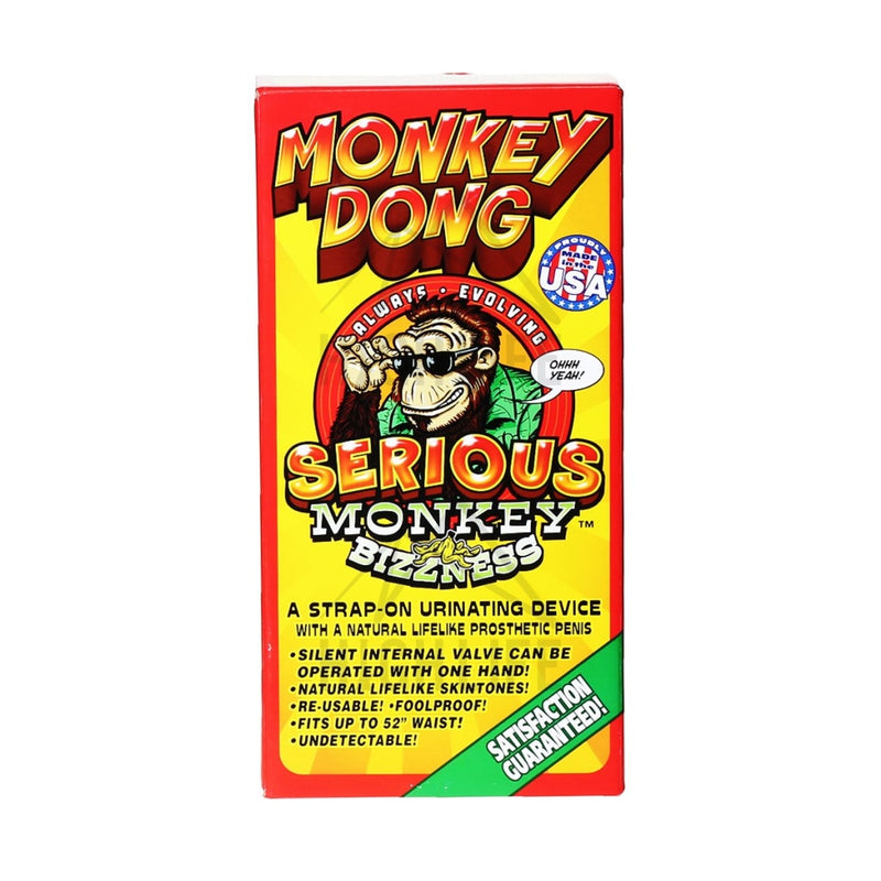 Monkey Dong Synthetic Urine - White Accessories