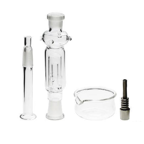 "6"" 10mm Nectar Collector Set with Dish"