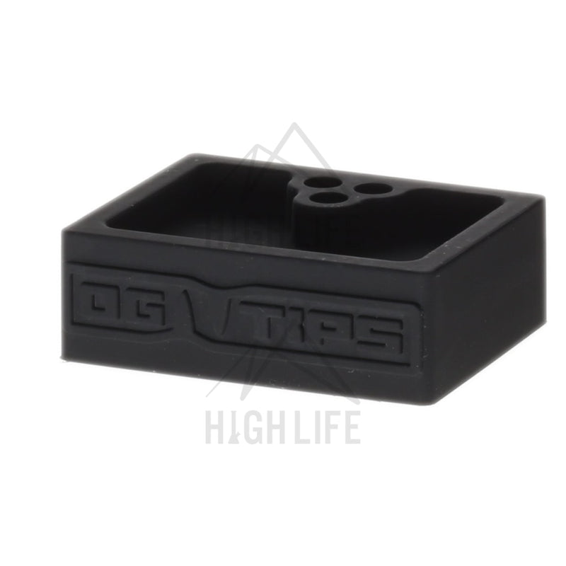 Og Tips Silicone Ashtray - Black Accessories