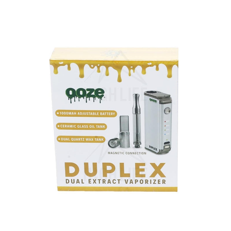 Ooze Duplex Dual Extract - Chrome Vaporizers