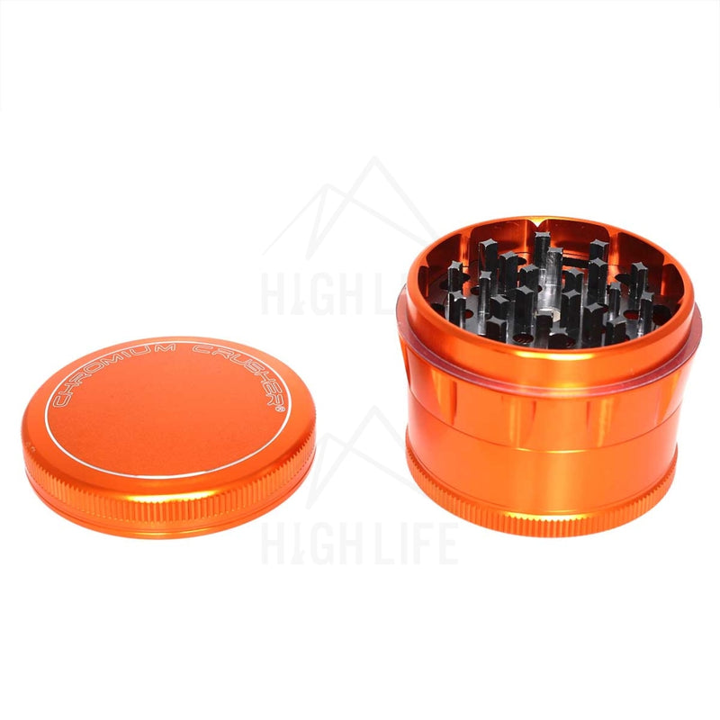 Orange 4Pc Chromium Crusher 2.5 Grinder Accessories