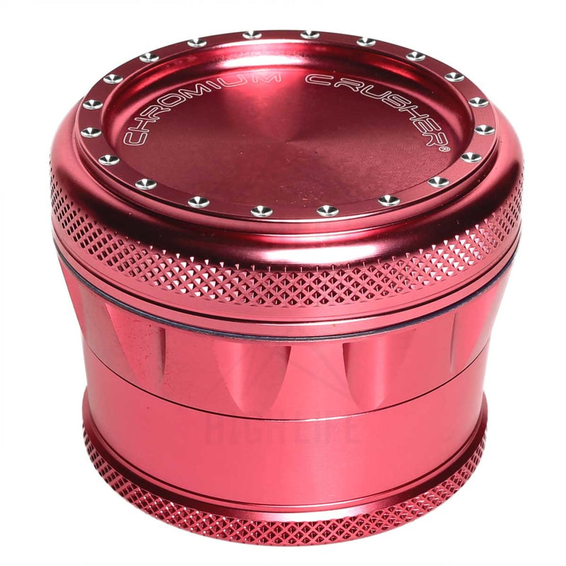 "Pink 4pc Premium Chromium Crusher 2.75"" Grinder"