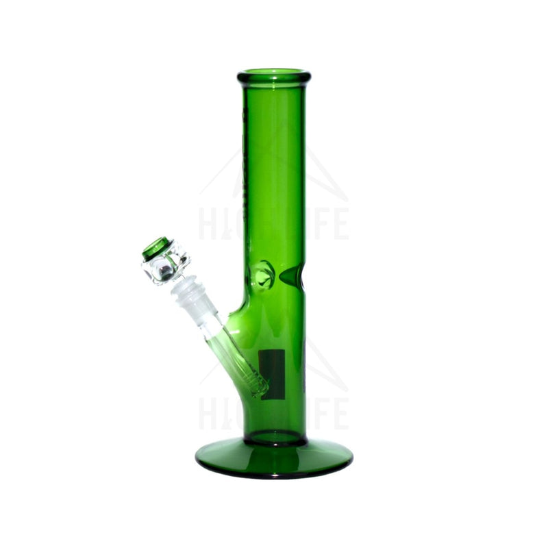 Pure Glass 12 Straight Bong - 50Mm Green Bongs & Waterpipes