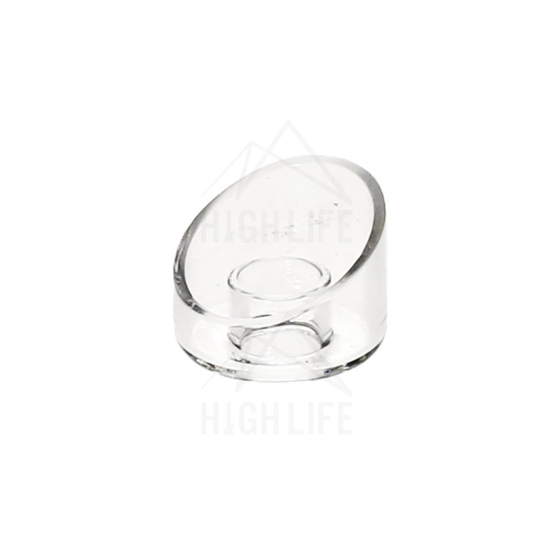 Quartz Angled Dish Accessory For Domeless Titanium Nail Accessories