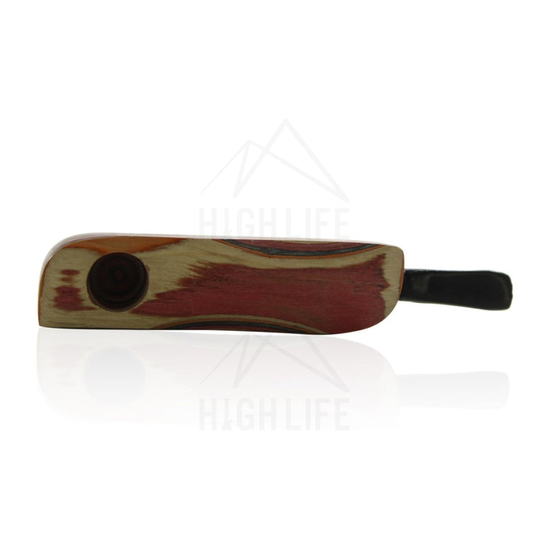Rasta Wood Pipe - Style 5 Hand Pipes