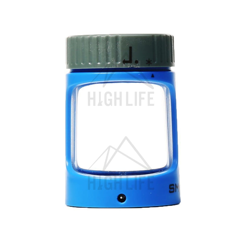 Stash Magnifying Led Jar - Blue Steel Accessories