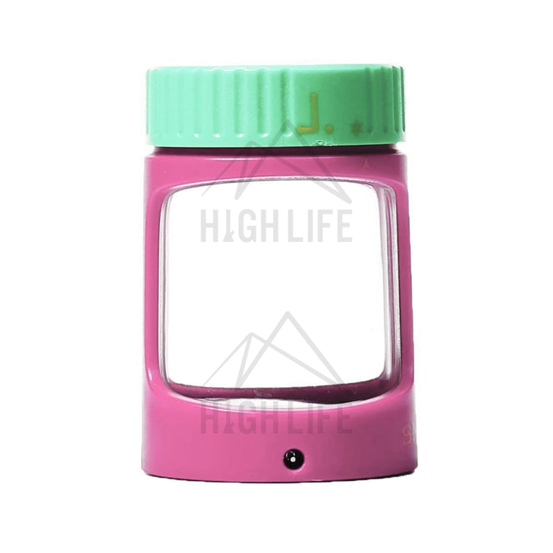 Stash Magnifying Led Jar - Honey Accessories