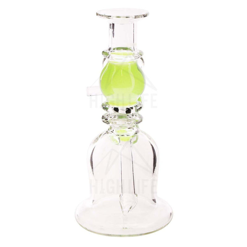 Waterpipe G/g 7 Double Maria Straight Martini With Bowl Slyme