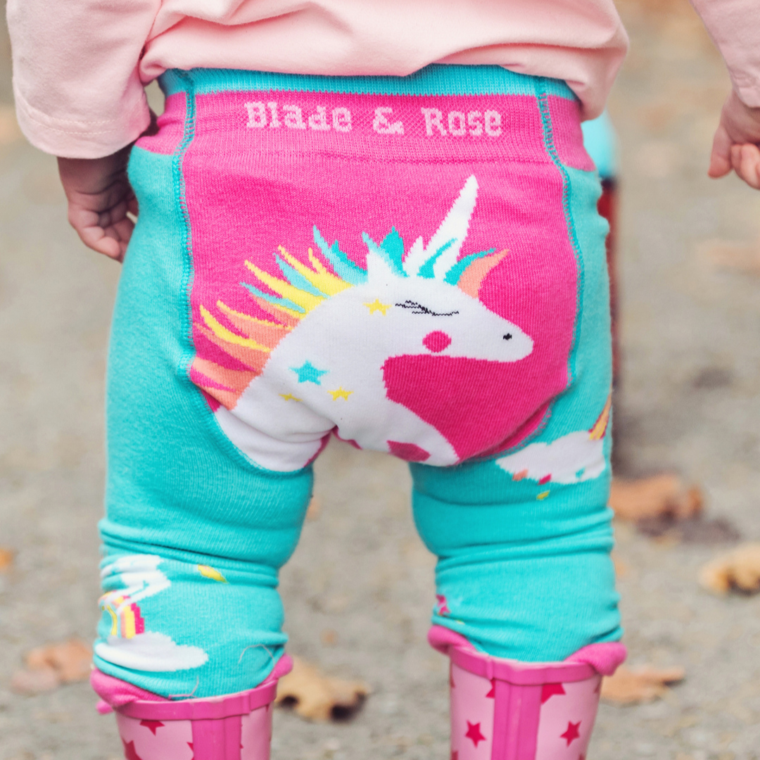 Unicorn top and leggings set