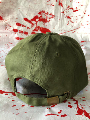 Deviant Fiend Army Green Unconstructed 5 Panel Strapback