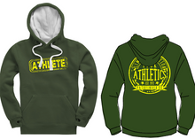 Load image into Gallery viewer, ATHLETE Unisex Heavyweight Hoodie - Bottle Green