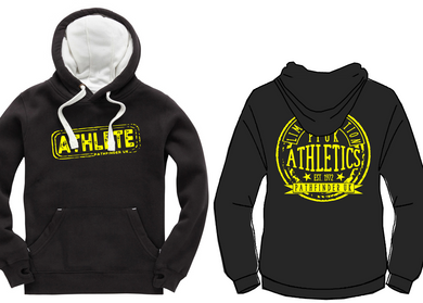 ATHLETE Unisex Heavyweight Hoodie - Dusty Black