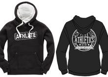 Load image into Gallery viewer, ATHLETE Unisex Heavyweight Hoodie - Dusty Black