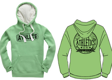 Load image into Gallery viewer, ATHLETE Unisex Heavyweight Hoodie - Peapod