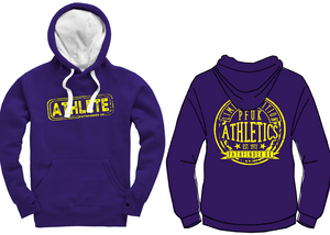 ATHLETE Unisex Heavyweight Hoodie - Deep Purple
