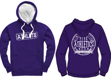 Load image into Gallery viewer, ATHLETE Unisex Heavyweight Hoodie - Deep Purple