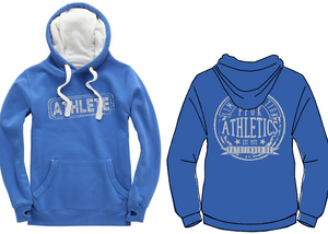ATHLETE Unisex Heavyweight Hoodie - Vintage Royal