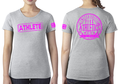 ATHLETE Ladies T-Shirt - Premium Heather