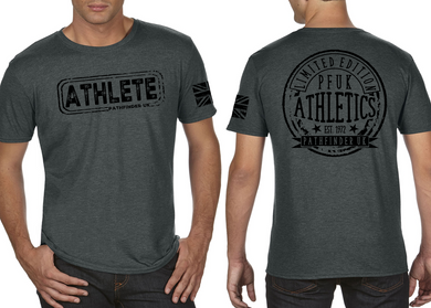 ATHLETE Men's T-Shirt - Heather Charcoal