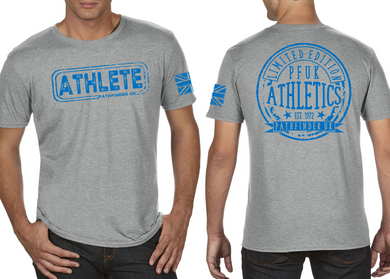 ATHLETE Men's T-Shirt - Heather Grey