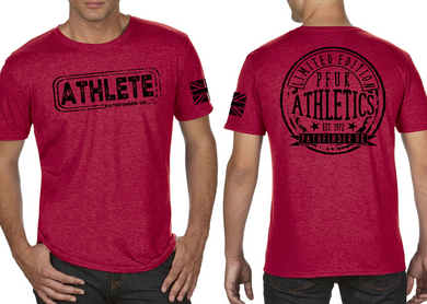 ATHLETE Men's T-Shirt - Vintage Red