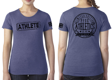 ATHLETE Ladies T-Shirt - Vintage Royal