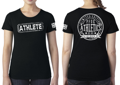 ATHLETE Ladies T-Shirt - Vintage Black