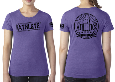 ATHLETE Ladies T-Shirt - Purple Rush