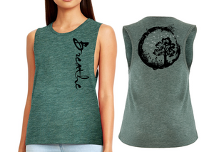 BREATHE Ladies Flow Vest Top - Royal Pine