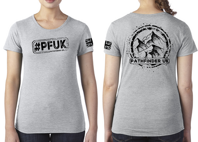 #PFUK Ladies T-Shirt - Premium Heather