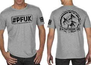 #PFUK Men's T-Shirt - Heather Grey