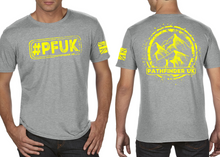 Load image into Gallery viewer, #PFUK Men's T-Shirt - Heather Grey