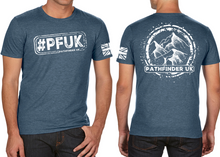 Load image into Gallery viewer, #PFUK Men's T-Shirt - Indigo