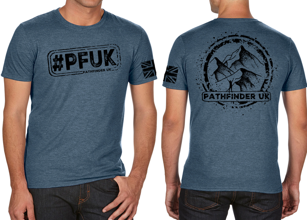 #PFUK Men's T-Shirt - Indigo