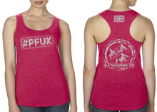Load image into Gallery viewer, #PFUK Ladies Racer Back Vest - Solid Red