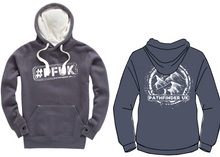 Load image into Gallery viewer, #PFUK Unisex Heavyweight Hoodie - Denim Grey