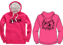 Load image into Gallery viewer, #PFUK Unisex Heavyweight Hoodie - Cerise Pink