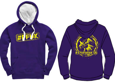 #PFUK Unisex Heavyweight Hoodie - Deep Purple