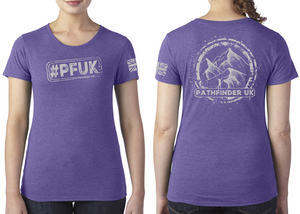 #PFUK Ladies T-Shirt - Purple Rush