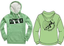 Load image into Gallery viewer, RUNNER Unisex Heavyweight Hoodie - Peapod
