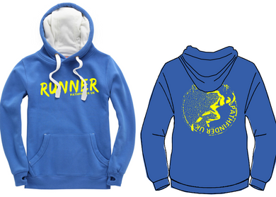 RUNNER Unisex Heavyweight Hoodie - Vintage Royal