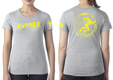 Load image into Gallery viewer, RUNNER Ladies T-Shirt - Heather Grey