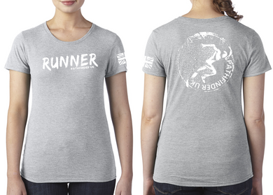 RUNNER Ladies T-Shirt - Premium Heather