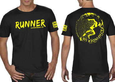 RUNNER Men's T-Shirt - Heather Black