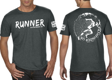 Load image into Gallery viewer, RUNNER Men's T-Shirt - Heather Charcoal