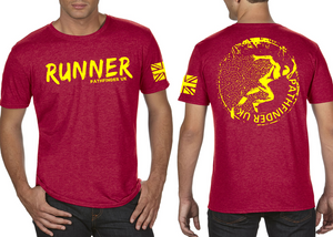 RUNNER Men's T-Shirt - Vintage Red