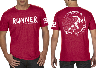 RUNNER Men's T-Shirt - Heather Red