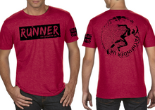 Load image into Gallery viewer, RUNNER Men's T-Shirt - Vintage Red