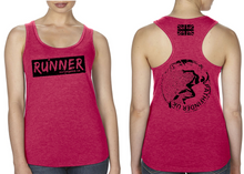 Load image into Gallery viewer, RUNNER Ladies Racer Back Vest - Solid Red