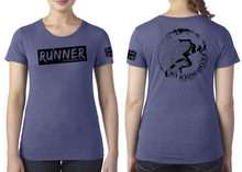 Load image into Gallery viewer, RUNNER Ladies T-Shirt - Vintage Royal